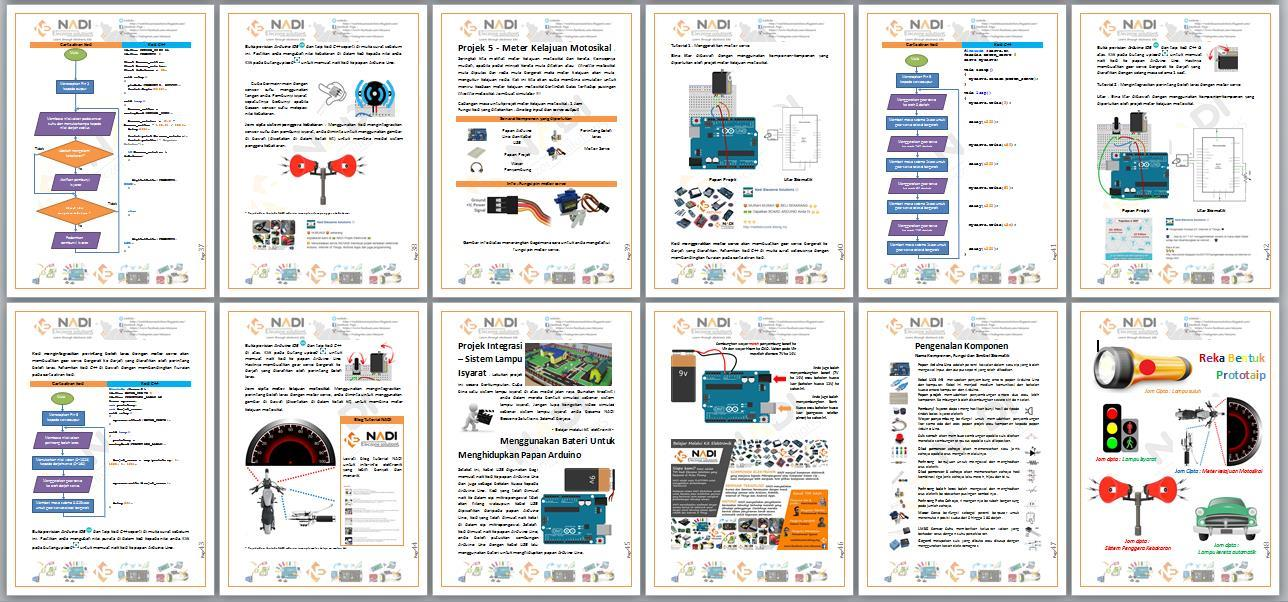 (BUKU) Arduino Koding Kits For Beginner Versi Ringkas