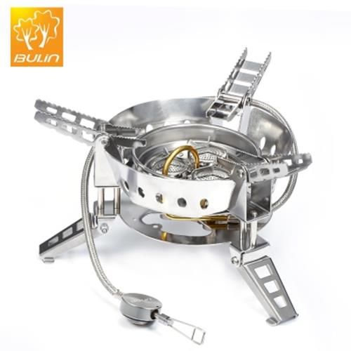 Miraculous Bulin Bl100 B17 Portable Gas Stove For Outdoor Cooking Silver Interior Design Ideas Clesiryabchikinfo