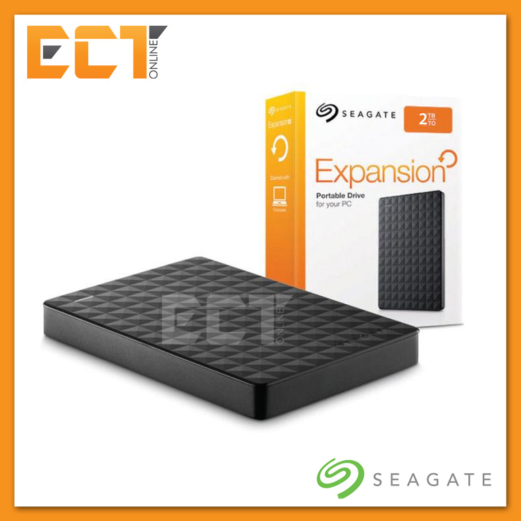 "(Bulk Pack) Seagate 2TB Expansion USB 3.0 2.5"" Portable External Hard"