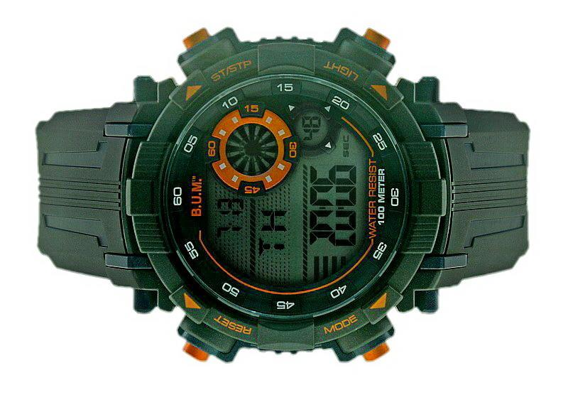Bum Men Digital Chrono Watch BF19305