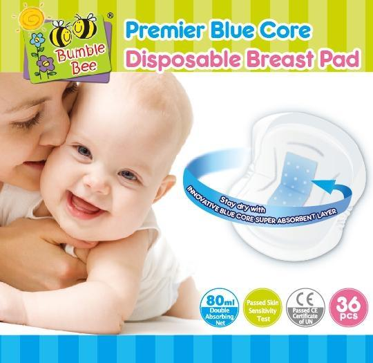 Bumble Bee 36Pcs Disposable  Breast pads - NR0002