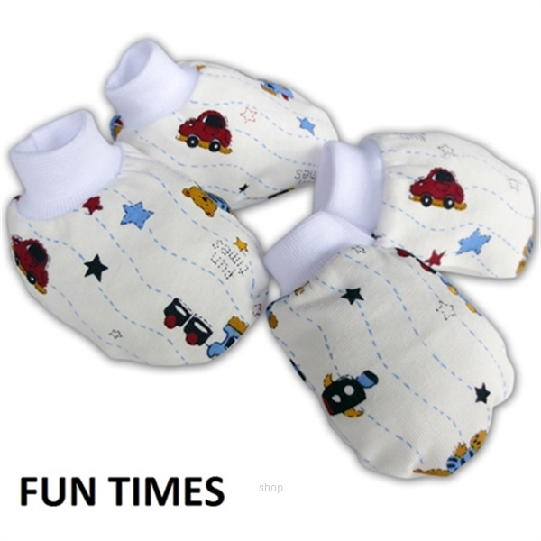 Bumble Bee Premature Mittens  & Bootees Set - S0016