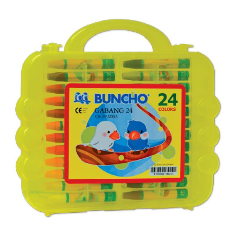 Buncho Gabang 24 Colors Oil Pastels