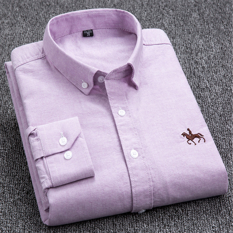 [Bundle 2Pc] Men Polo Knitting Casual Long Sleeve Shirt