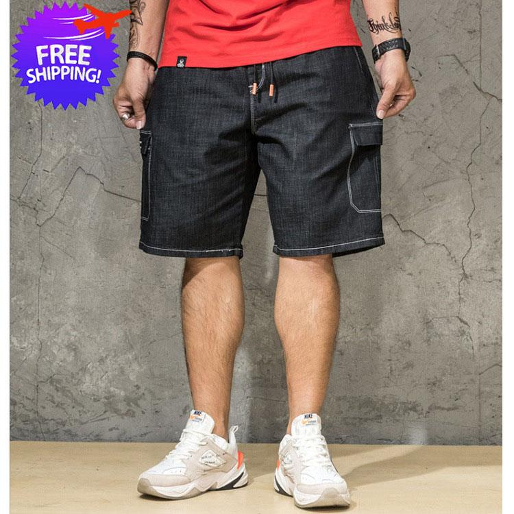 [Bundle Deal] Plus Size Men Knee Length Short Jeans