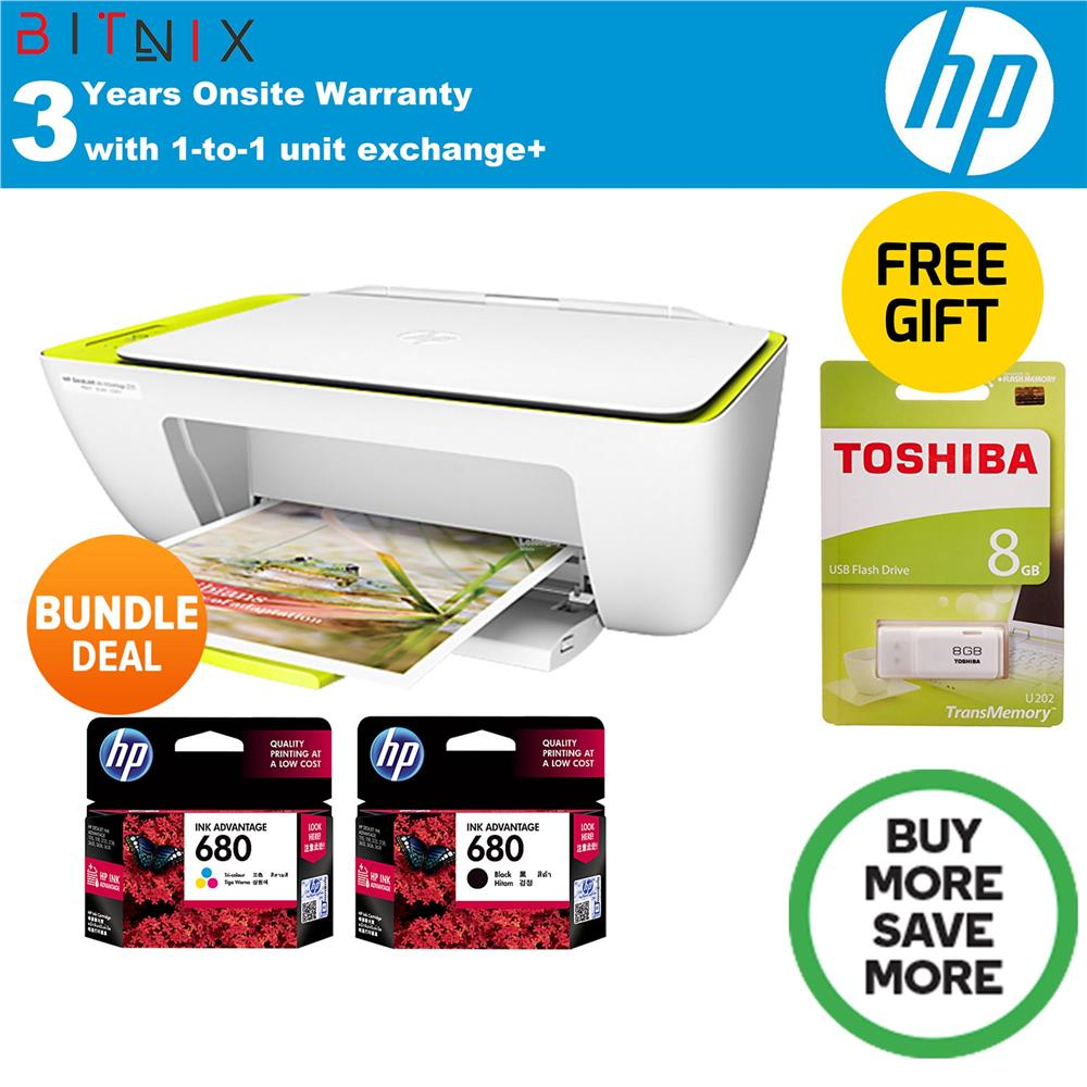 [Bundle] HP Deskjet Ink Advantage 2135 AiO Printer