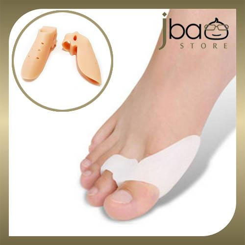 Bunion Silicone Gel Bent Toe Separator Hallux Valgus Orthotic Loop