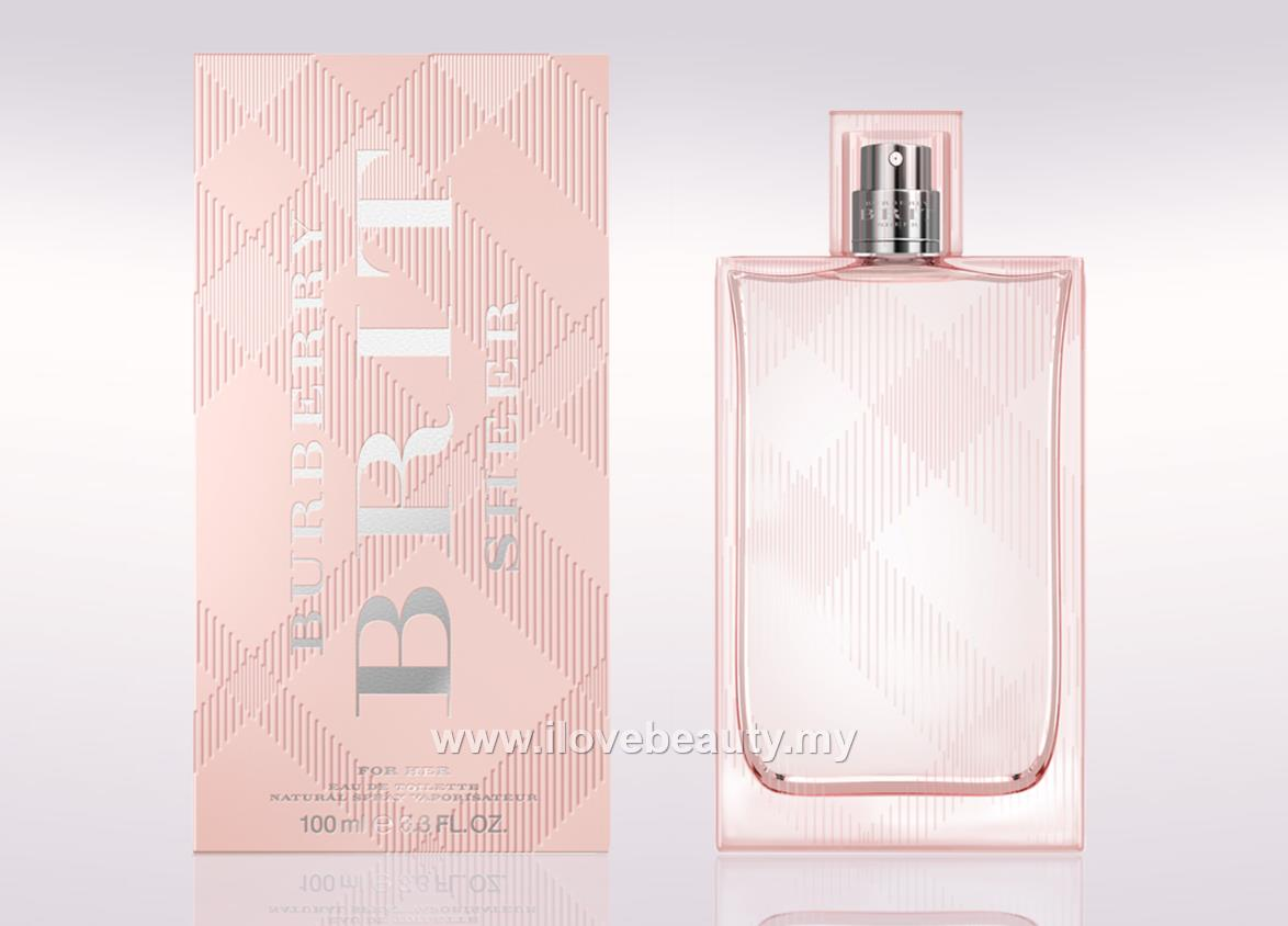 933002e89248 BURBERRY BRIT SHEER – WOMEN EDT 100ml     ORIGINAL PERFUME