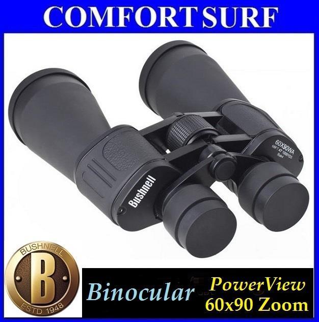 Bushnell Binocular Telescope PowerView 60x90 Coated Optics Green Film. ‹ ›
