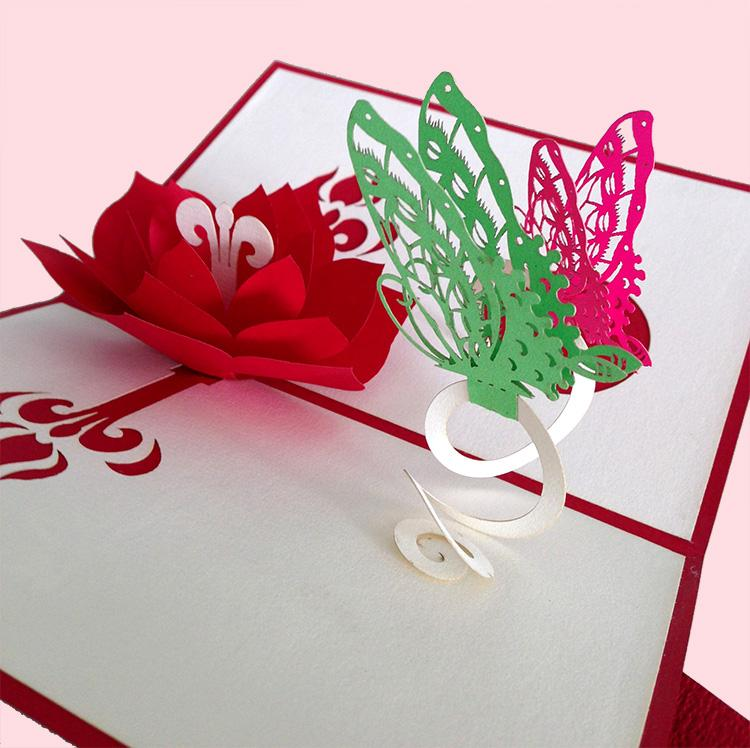 How To Make A Flower Pop Up Birthday Card Flowers Healthy