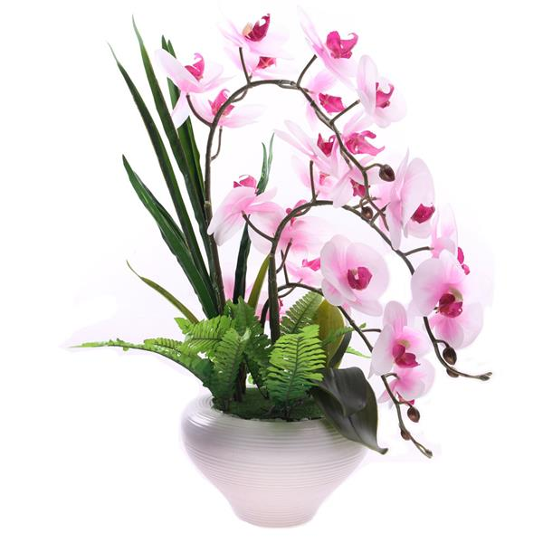 butterfly orchid artificial flower w (end 2/6/2019 11:11 am)