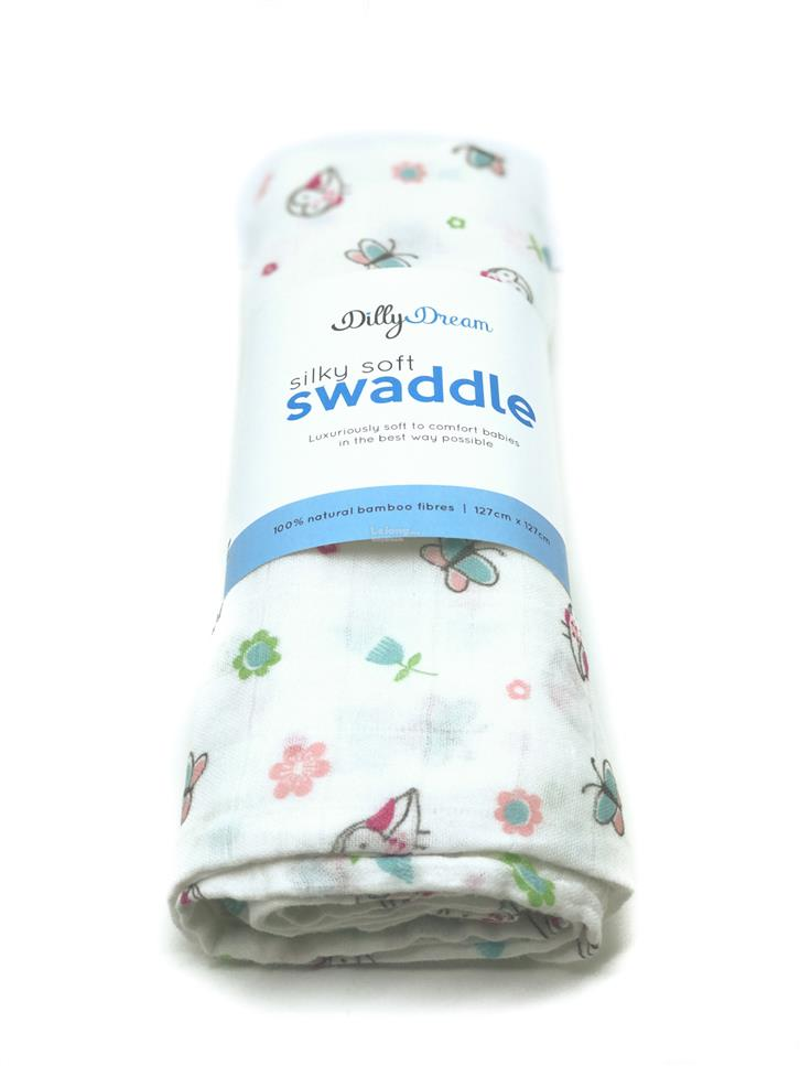 Butterfly SilkySoft Bamboo Swaddle Blanket Wrap - 100% Bamboo