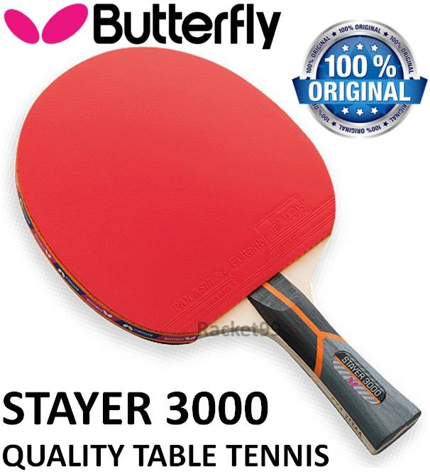 Butterfly Stayer 3000 Shakehand Table Tennis Racket@