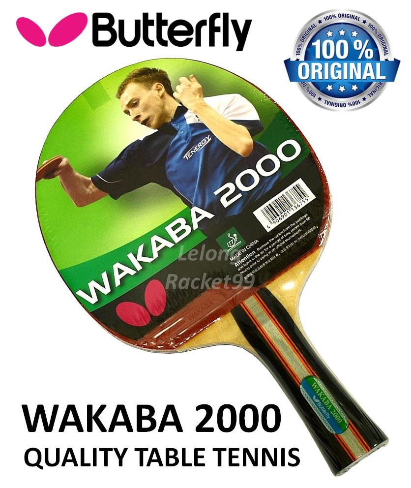 Butterfly wakaba 2000 shakehand tab end 12 26 2017 4 15 pm for Table tennis 99