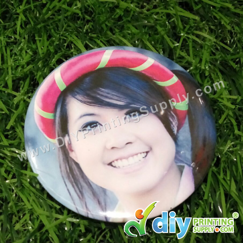 Button Badge Pin with Mylar (25mm) (100 ? pcs/pkt)