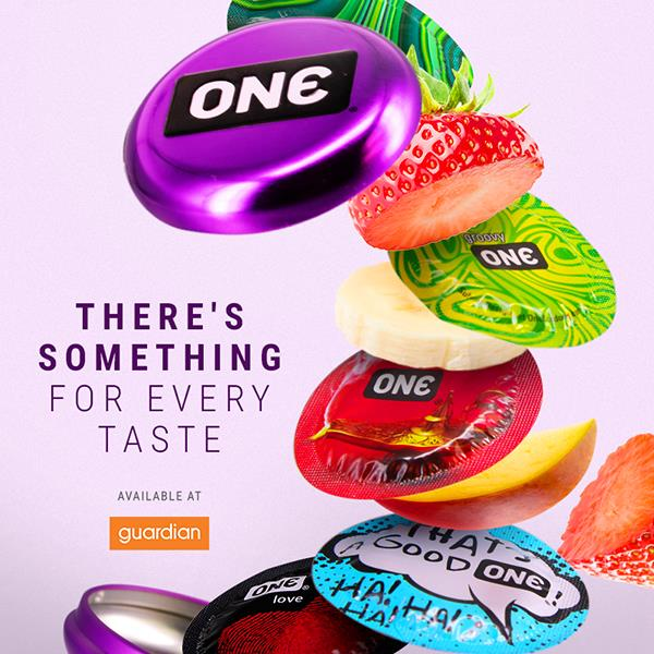 [Buy 1 Free 1] One Mixed Pleasures Condoms 3s