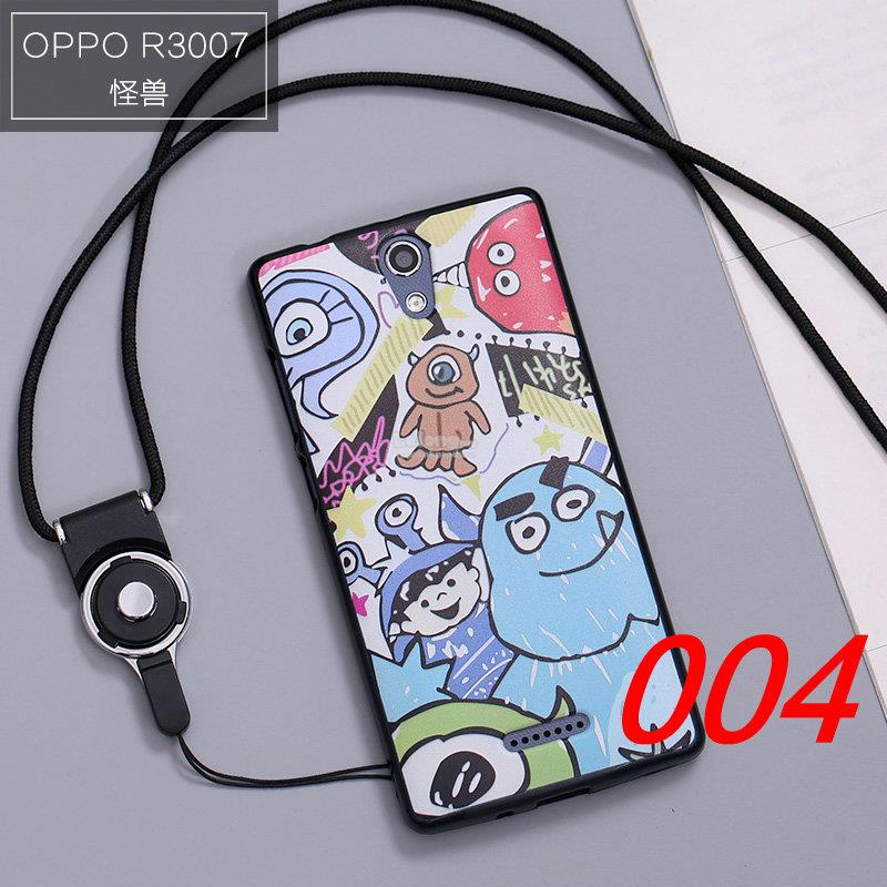 Buy 1 Free 1 @ OPPO Mirror 3 R3007 Cartoon TPU Back Case Cover Casing