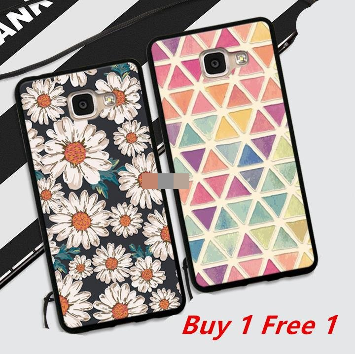 best website 9ab6b ad2fe Buy 1 Free 1 @ Samsung Galaxy A5 A7 2015 2016 Back Case Cover Casing