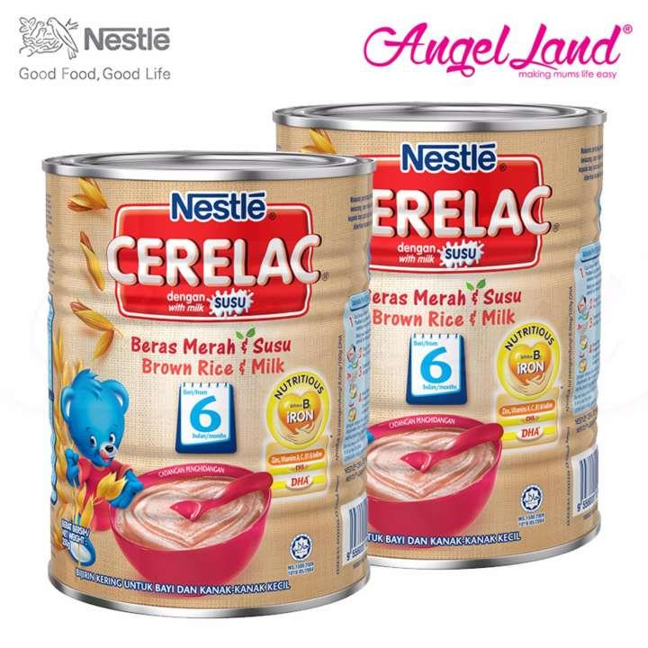 [Best Buy For 2] Cerelac Brown Rice & Milk 6M+ (350G) X2 Packs