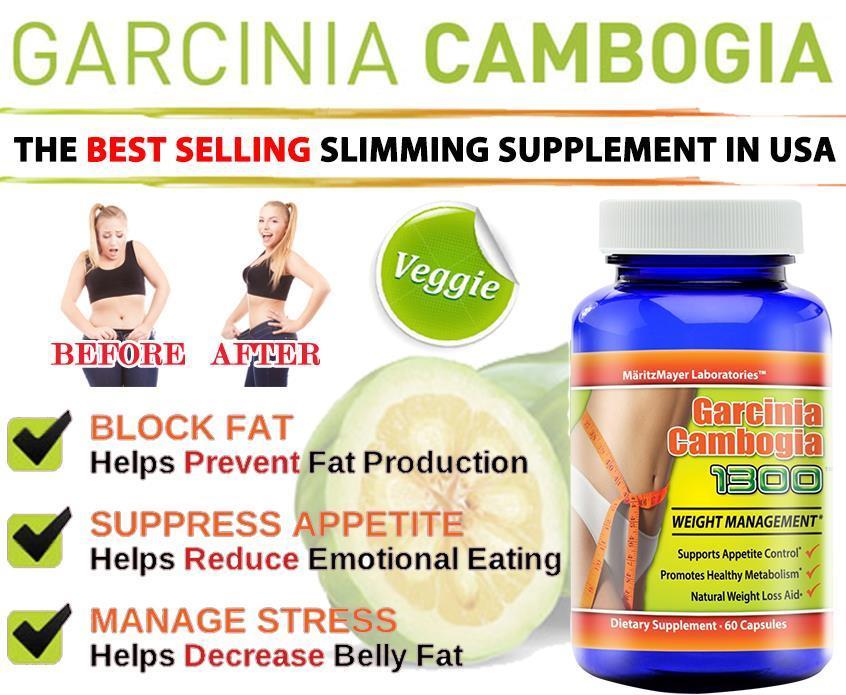 Buy 2 Free 1 Veggie Garcinia Cambogia 1300 Weight Loss Slimming Diet