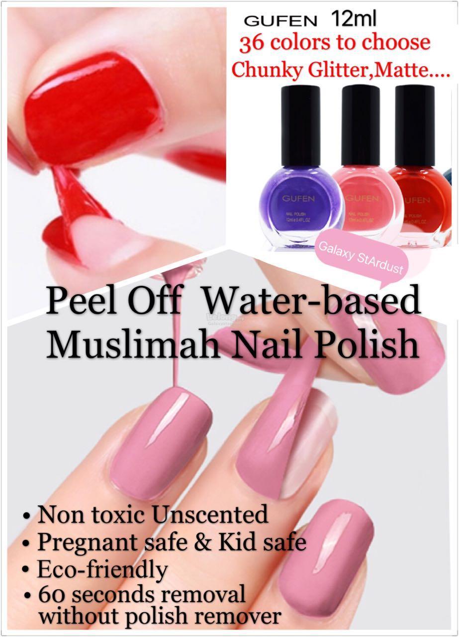 Buy 3 Free 1 Nail Polish,Muslimah P (end 12/24/2018 3:03 AM)