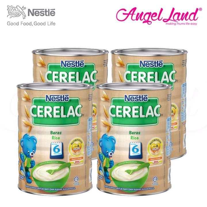 [Best Buy For 4] Cerelac Rice 6M+ (500G) X4