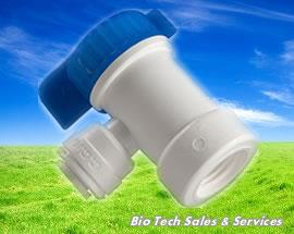 "BV 102 EZ Tank Shut Off Ball Valve  (In : 1/4"", Out : 1/4"") (Water)"