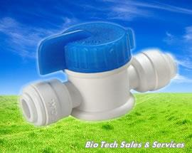 "BV101 EZ Ball Valve  (In : 1/4"", Out : 1/4"") (Water filter,Vending)"