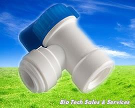 "BV103 EZ Tank Shut Off Ball Valve  (In : 1/4"", Out : 3/8"") (Water)"