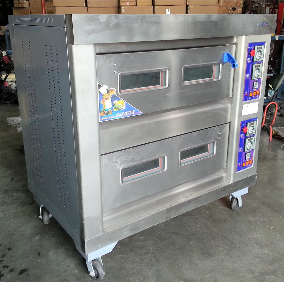 BYRFL-24   GAS OVEN  2LAYER /4 DISH ID555445