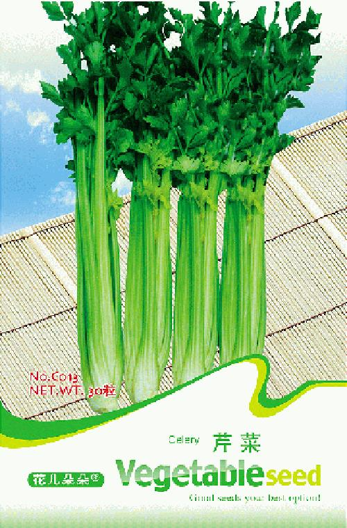 C013 CELERY FLOWER GODDESS VEGETABLE FLOWER FRUIT HERB SEED