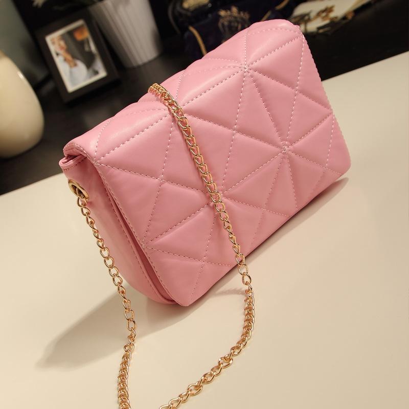 C016-Pink Handbag, Shoulder Bag, Slin (end 7/2/2018 2:15 PM)