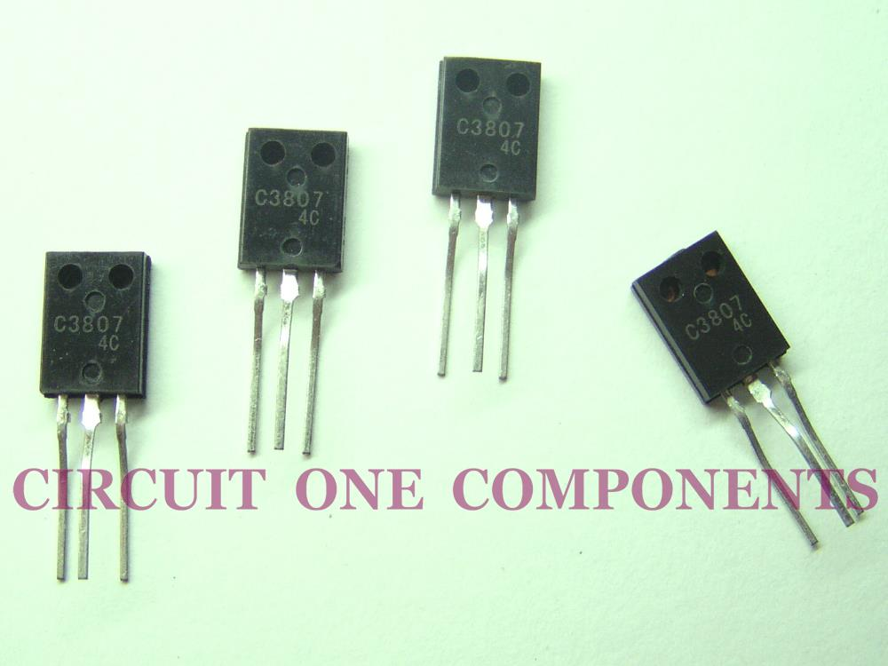 C3807 / 2SC3807 High Gain Amplifier Transistor - Each