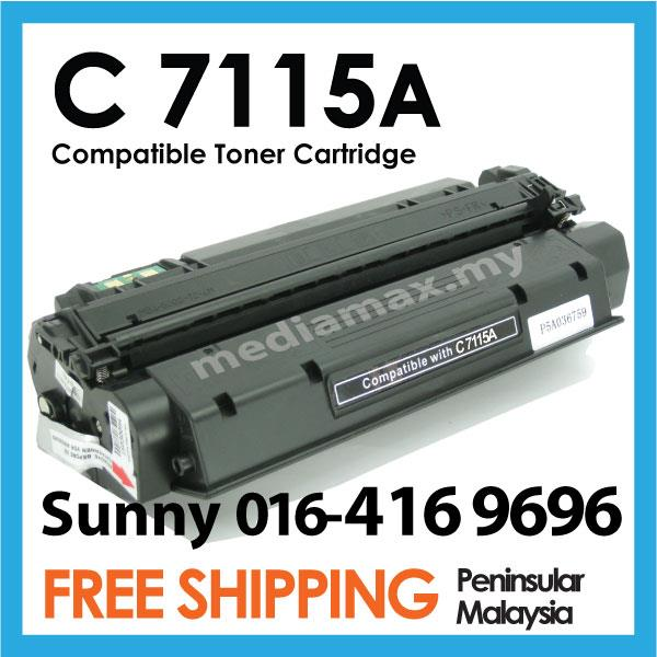 C7115A/15A 7115 Compatible HP 3320 3330 3380 3385 Laser Printer Toner