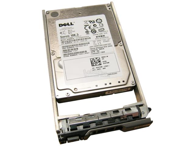 C975M DELL 300GB 10000RPM SAS-6GBPS 2.5INCH 16MB BUFFER HARD DRIVE WI