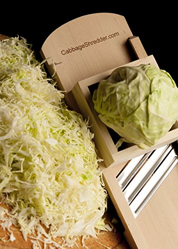 .... . Cabbage Shredder  & Slicer for Finely Cut Sauerkraut  & Other Vegetable