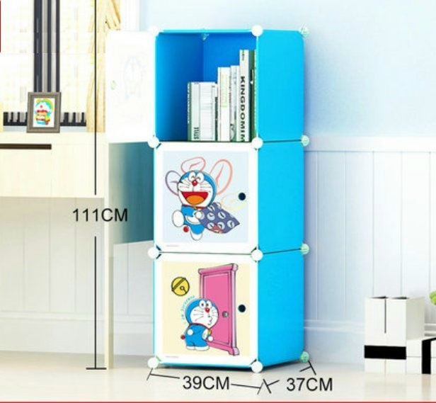 Cabinet 3 Cubes Doraemon bookshelf DIY Storage Box. u2039 u203a  sc 1 st  Lelong.my & Cabinet 3 Cubes Doraemon bookshelf (end 11/13/2018 3:15 PM)