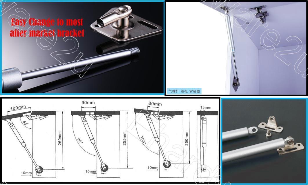 CABINET DOOR GAS STRUT LID STAY 100N (LS100N)