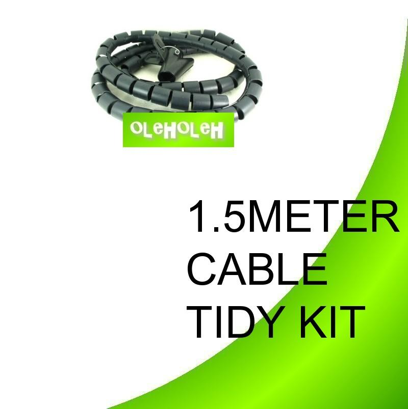 *Cable Management Cable Tie Tidy Computer Cable Zip Cable Wrap