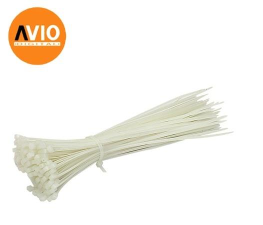 CABLE TIE-300MM(W) 12' Cable Tie (WHITE) 100pcs