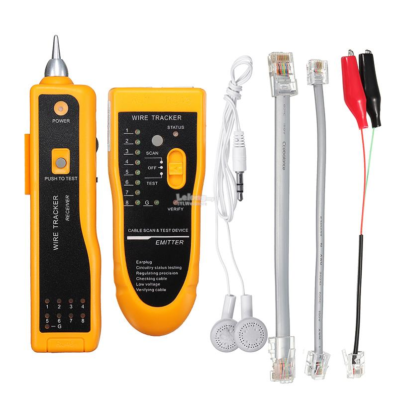 Cable Wire Tracker Tracer Network Cable Tester Detector Line Finder Di