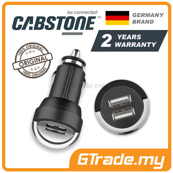 CABSTONE 4.0A Dual USB Car Charger Apple iPhone 6S 6 Plus 5S 5C 5 4S 4