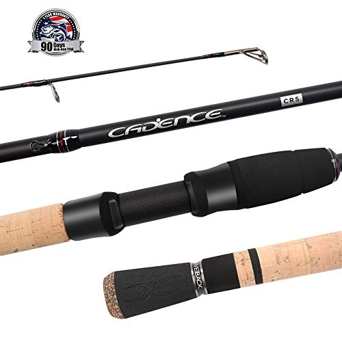 Cadence Spinning Rod,CR5-30 Ton Carbon Casting and Ultralight Fishing Rod,Fuji