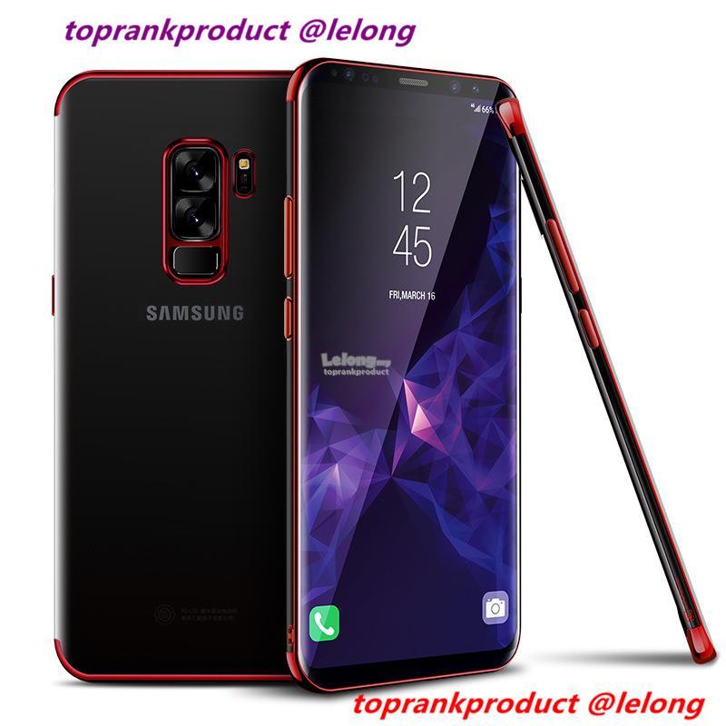 best service cc360 0daec Cafele Samsung Galaxy S8 S8+ S9 S9+ Plus TPU Back Case Cover Casing