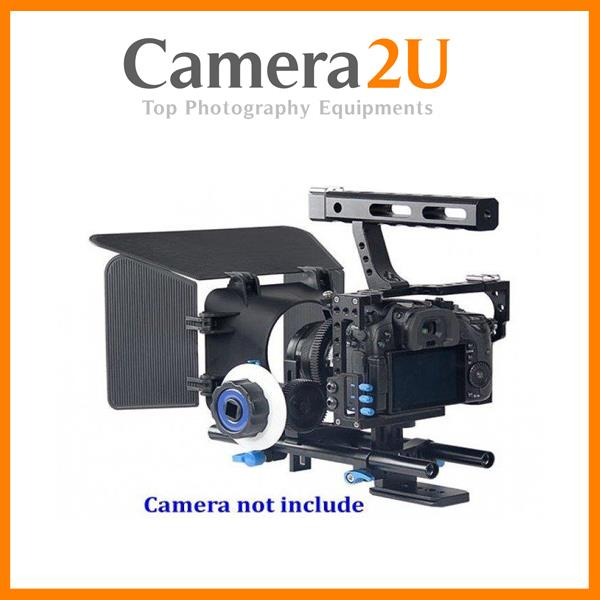 Cage Kit Set For Sony A7 II A7S MK2 A7R MK II Panasonic GH4 Video Rig