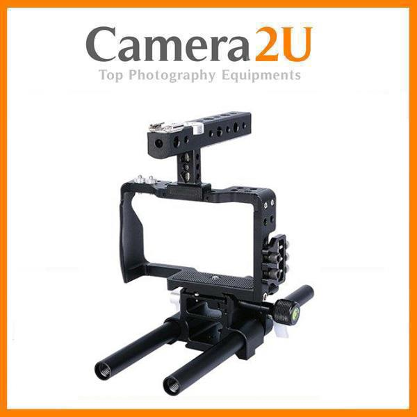 Cage For Sony A6300 A6400 A6500 Video Rig Supprt YC60