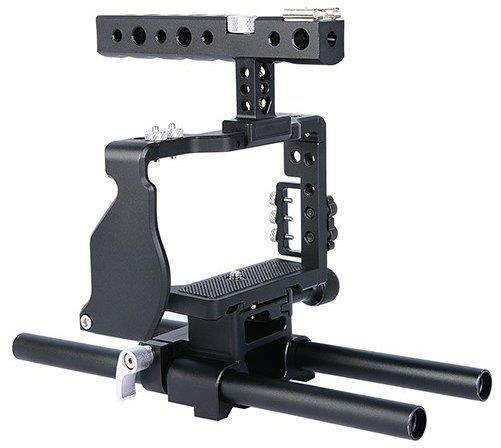 Cage For Sony A6300 A6500 Video Rig Supprt YC60