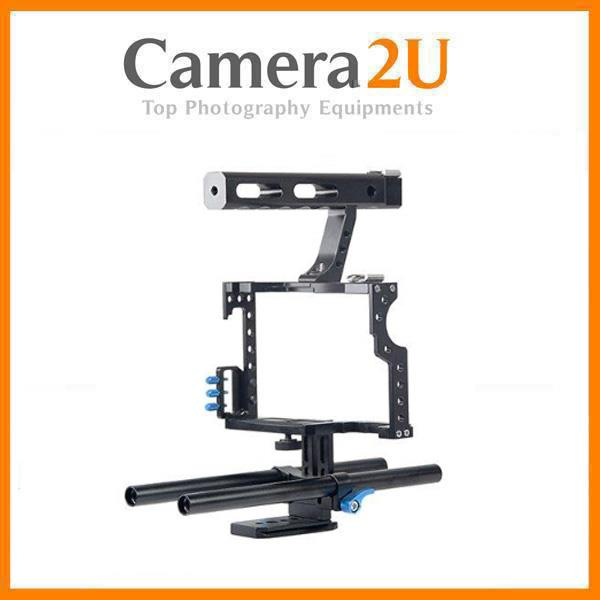 Cage For Sony A7 A7S A7R MK Mark 2 II Panasonic GH4 Video Rig YC50