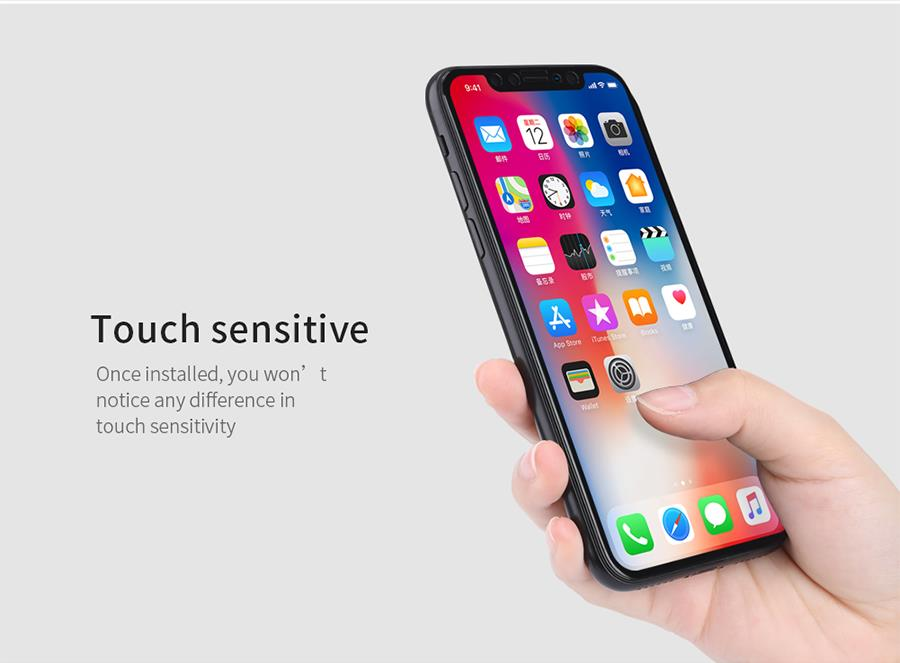 CAISLES iPhone X 8 7 6S Plus 5D Curved Full Screen Protector