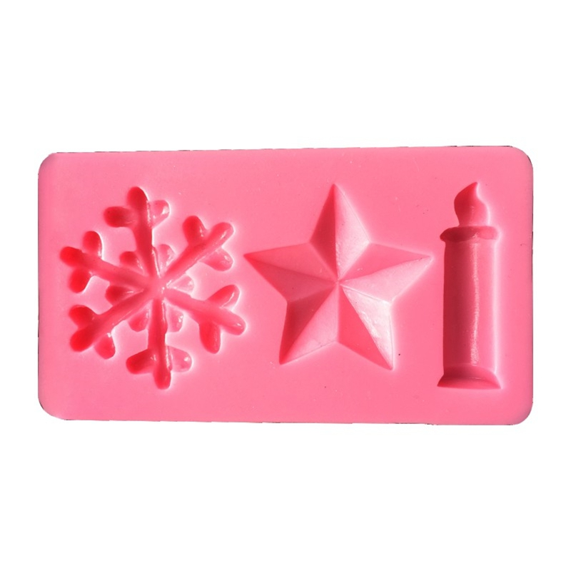 Cake Decorating Supplies - Piece Of Silicone Mould - AK Christmas Cand..